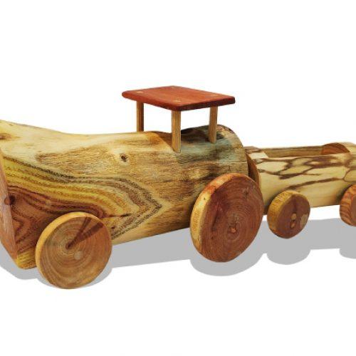 טרקטור מעץ